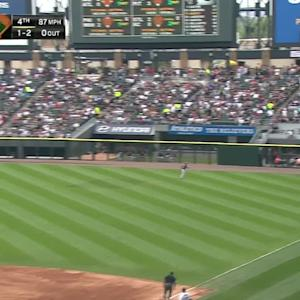 Abreu's solo home run