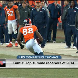 Curtis Conway's top 10 wide receivers