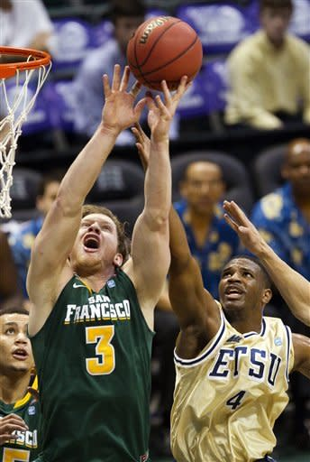San Francisco beats ETSU 67-49 in Hawaii
