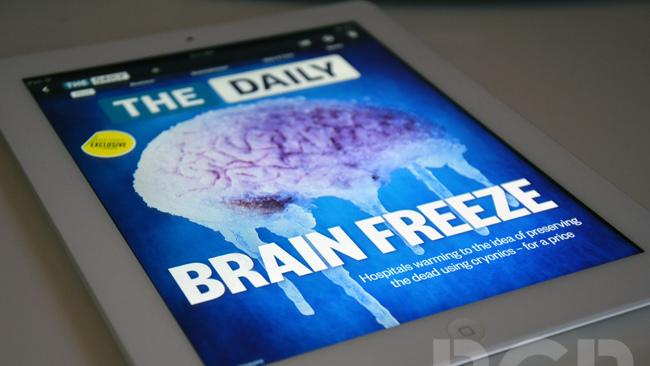 News Corp shutting down iPad newspaper 'The Daily' on December 15th