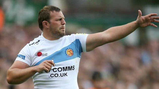 Aviva Premiership - Leicester Tigers v Exeter Chiefs - Welford Road, Brett Sturgess, September 11 2010