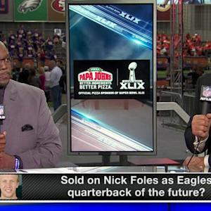 Is Nick Foles the answer at quarterback for the Philadelphia Eagles?