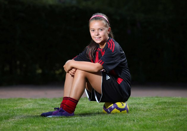 Aisha Saini was scouted by AC Milan on holiday © HEMEDIA/SWNS