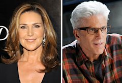 Peri Gilpin, Ted Danson | Photo Credits: Dr. Billy Ingram/WireImage, Sonja Flemming/CBS