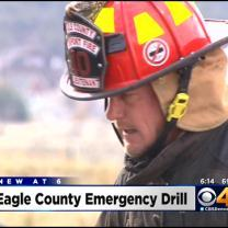 Eagle County Holds Plane Crash Drill