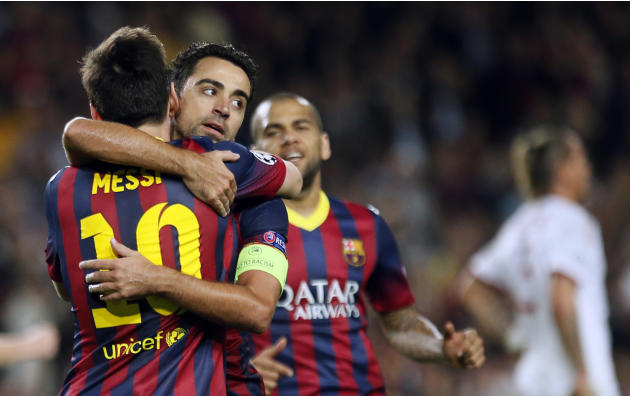 Barcelona strike 'innovative' sponsorship deal with Intel