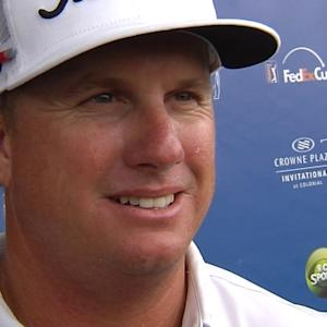 Charley Hoffman interview after Round 3 of Crowne Plaza