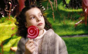Julia Winter as Veruca Salt in Warner Bros. Pictures' Charlie and the Chocolate Factory