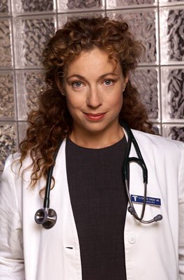"Alex Kingston NBC's ""ER"" ER"
