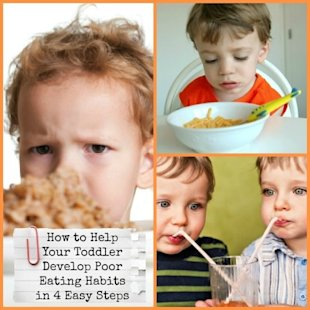 Help Your Toddler Develop Poor Eating Habits!