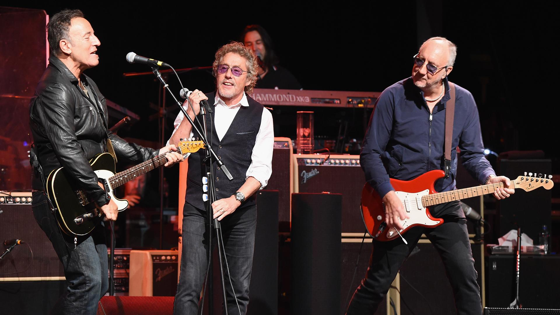 The Who's Roger Daltrey, Bruce Springsteen Honor Pete Townshend at MusiCares Map Fund Concert