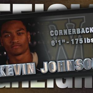 2014 Official Highlights | Wake Forest CB Kevin Johnson