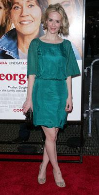 Sarah Paulson at the New York premiere of Universal Pictures' Georgia Rule