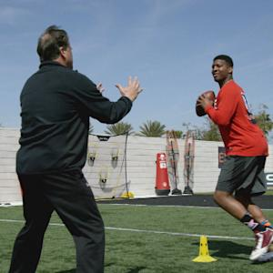 'Game Changers': Steve Mariucci takes the field with Jameis Winston