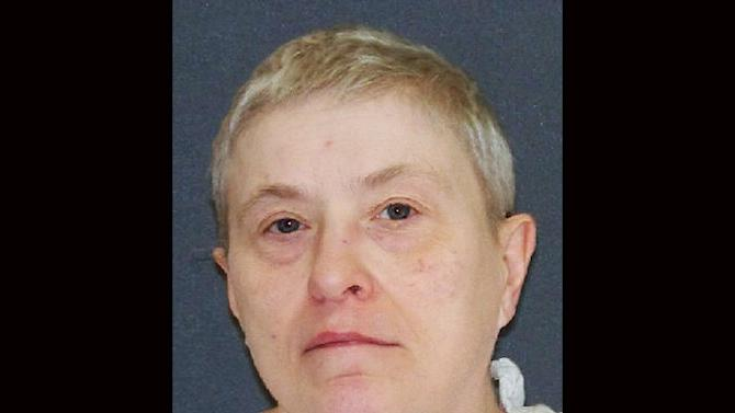 "This handout image provided by the Texas Department of Criminal Justice shows capital murder defendant Suzanne Basso. On Wednesday, Feb 5, 2014 Basso, 59, is scheduled to die for for the torture slaying of Louis ""Buddy"" Musso, a mentally impaired man near Houston more than 15 years ago.(AP Photo/Texas Department of Criminal Justice)"
