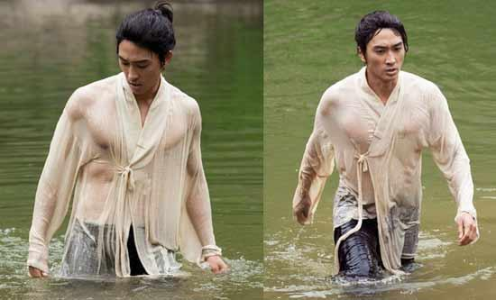 Song Seung Hun's Wet Shirt Reveals Muscular Frame in 'Time Slip Dr. Jin'