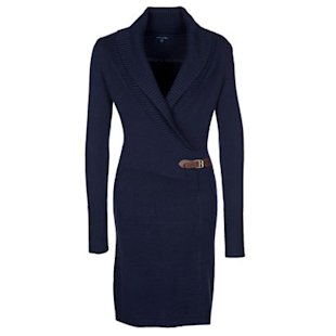 Harlem Wrap Long Sleeve Dress, £150, by Tommy Hilfiger