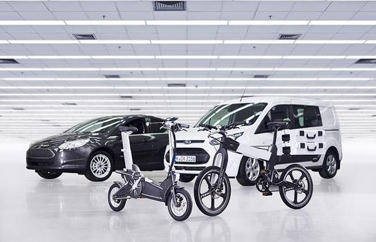Ford announces electric bike project to make city journeys smarter