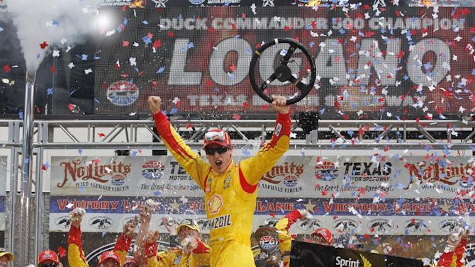 Last-lap pass for Logano to get Cup win at Texas