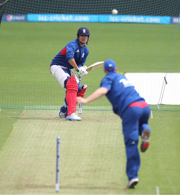 Cricket - ICC Champions Trophy - Group A - England v New Zealand - England Nets - SWALEC Stadium