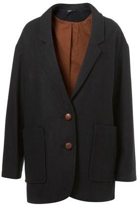 Drop Arm Boyfriend Coat