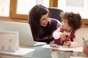 A new study finds that women who work at least part time are happier and healthier than those who stay home with their kids.
