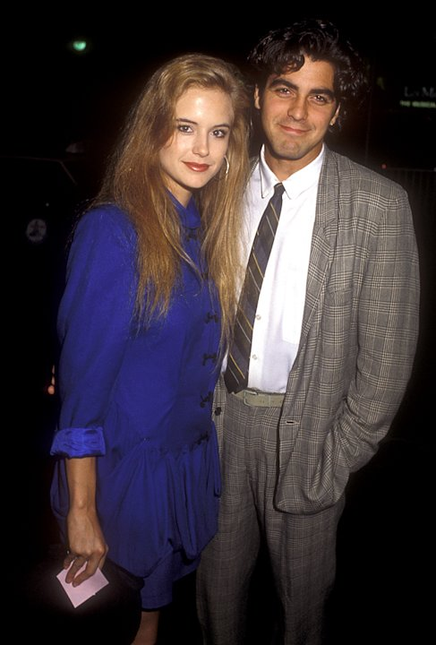 Kelly Preston, George Clooney