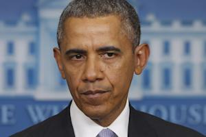 President Barack Obama speaks about Ukraine in the …