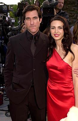 Dylan McDermott and Shiva Rose 73rd Academy Awards Vanity Fair Party Beverly Hills, CA 3/25/2001