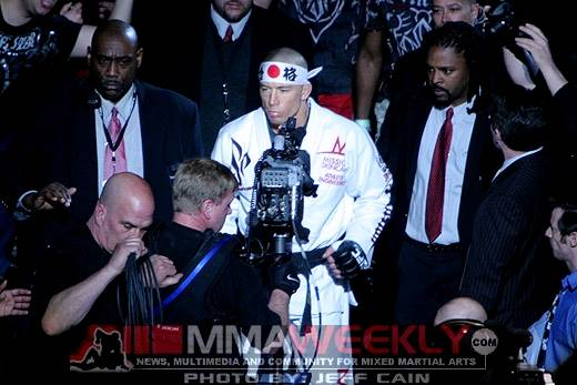 What Drives Georges St-Pierre as He Walks Out to the UFC Octagon? … Fear