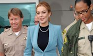 Medics Rush To 'Exhausted' Star Lindsay Lohan