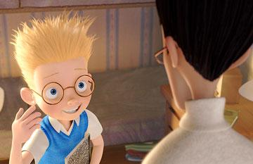 Lewis Robinson (voiced by Jordan Fry ) in Walt Disney Pictures' Meet the Robinsons