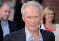 Clint Eastwood arrives at a screening of &quot;Trouble With The Curve&quot; in California on September 19. He made headlines with his off-the-cuff Republican convention speech -- and defies expectations again with his latest film, returning to the screen as an actor at the age of 82
