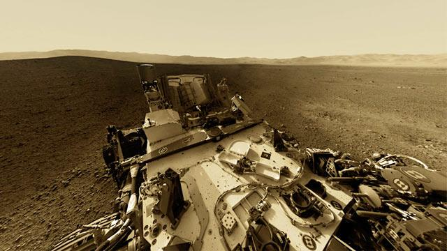 Mars Rover: Spectacular Interactive