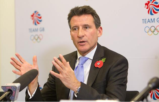 Olympics - Lord Sebastian Coe Filer