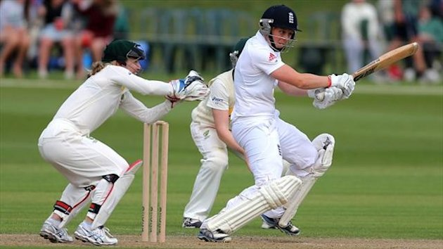 Heather Knight stood firm for England Women