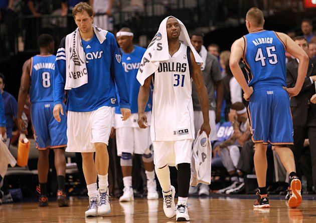 Oklahoma City Thunder v Dallas Mavericks - Game Three