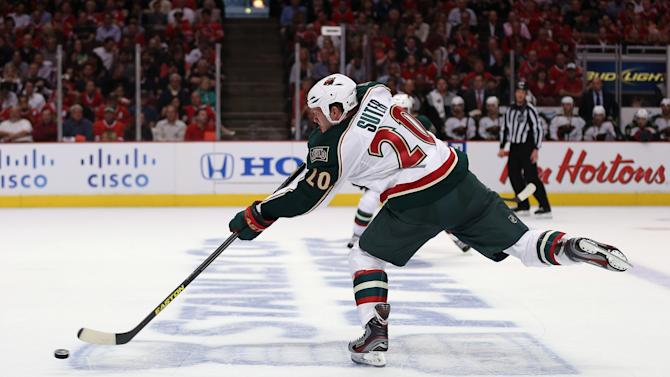 Minneosta Wild v Chicago Blackhawks - Game One