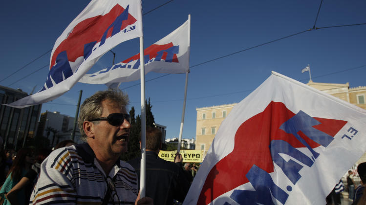Greek bill opens way for civil service layoffs