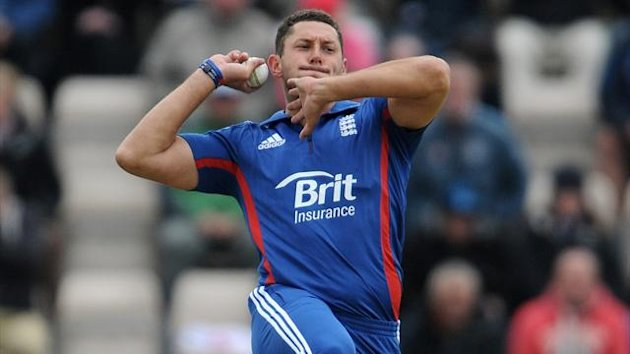 Tim Bresnan of England