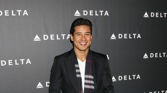 Mario Lopez  arrives at a Celebration of LA's Music Industry at the Getty House on Thursday, Feb. 7, 2013 in Los Angeles. (Photo by Todd Williamson/Invision/AP)