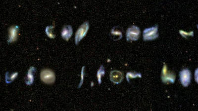 Intergalactic A to Z: Volunteers Find Galaxies Shaped Like the Alphabet