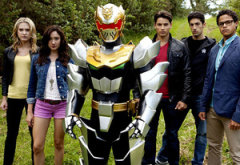 Ciara Hanna, Christina Masterson, Robo Knight, Andrew Gray, Azim Rizk, John Mark Loudermilk | Photo Credits: Saban Brands