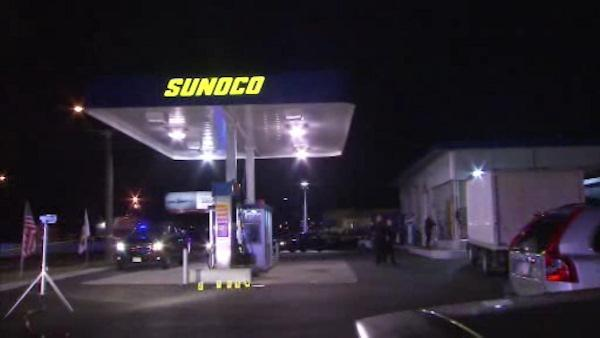 NJ gas station attendant shot in leg