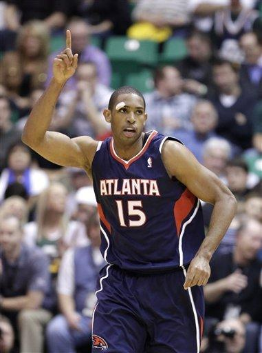 Horford leads Hawks past Jazz 102-91