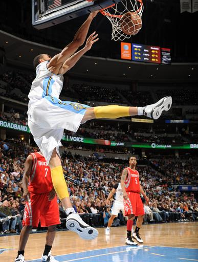 Afflalo leads Nuggets past Rockets 101-86