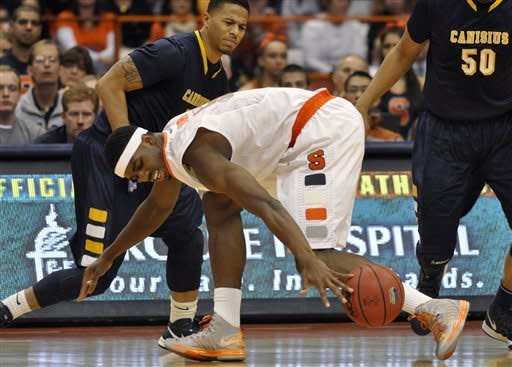 No. 4 Syracuse beats Canisius to stay unbeaten