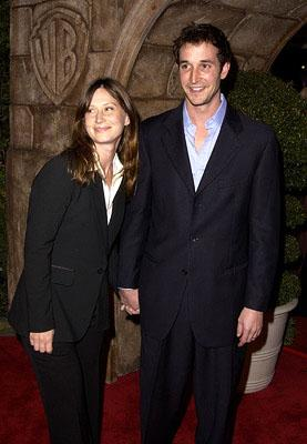 Noah Wyle and gal at the Westwood premiere of Warner Brothers' Harry Potter and The Sorcerer's Stone