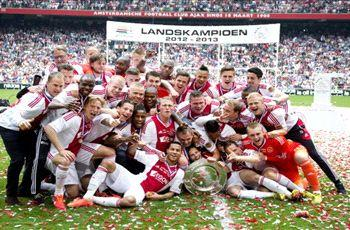Ajax secures 32nd Dutch title
