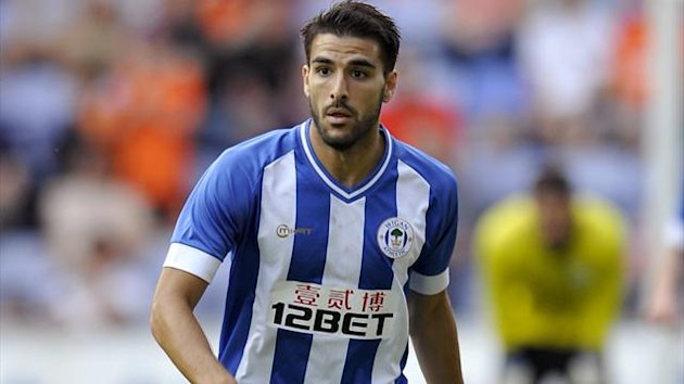 Jordi Gomez, Wigan Athletic (PA)